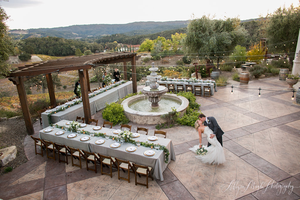 wedding reception, croad winery, paso robles