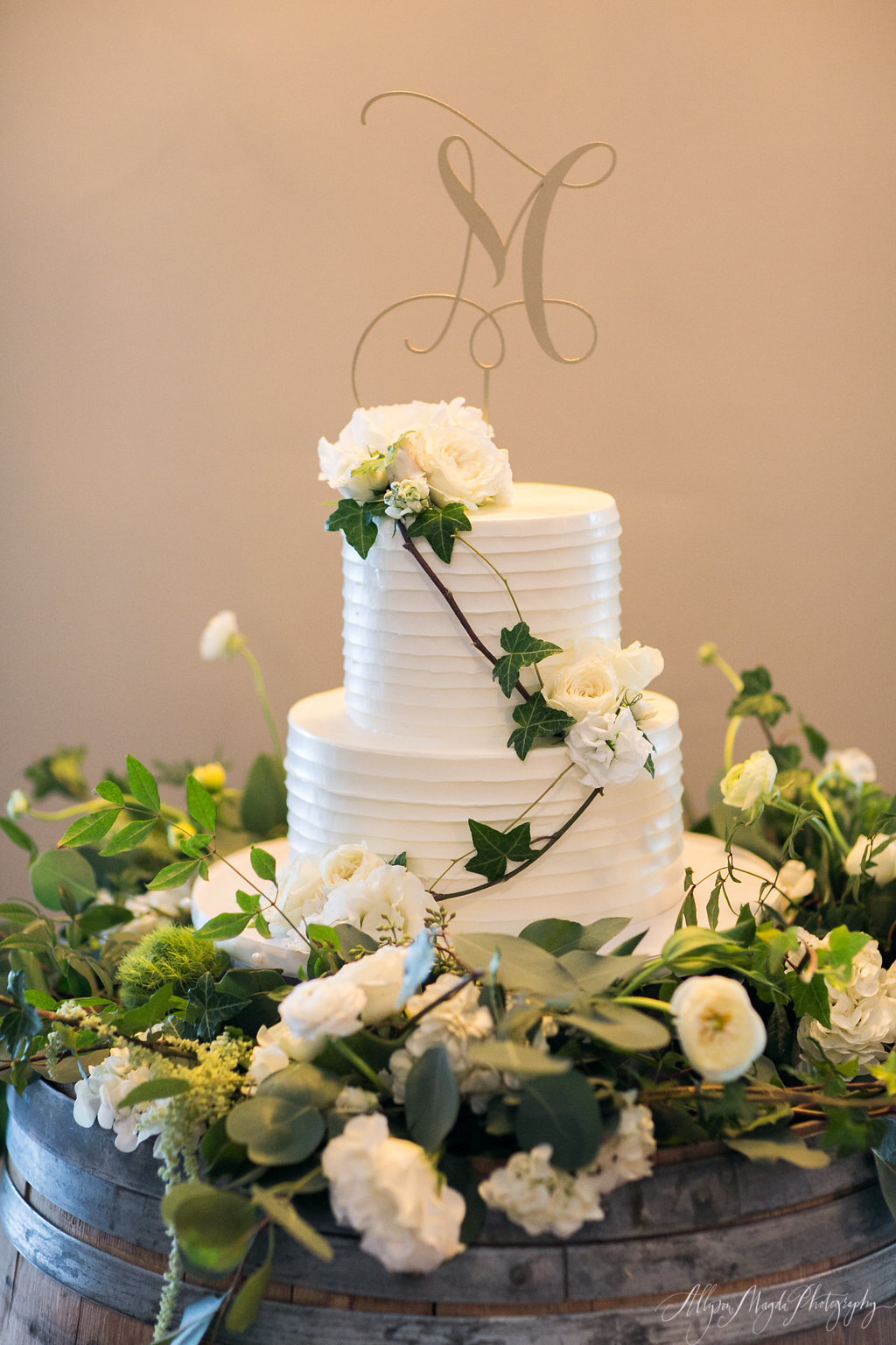 wedding cake, croad winery, paso robles