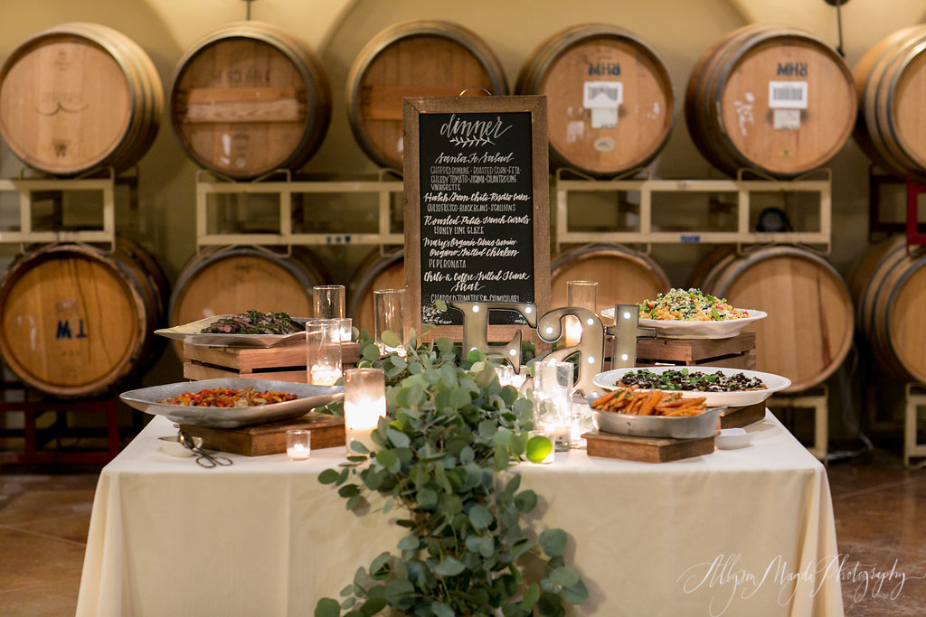 Trumpet Vine Catering, Paso Robles, Croad Winery