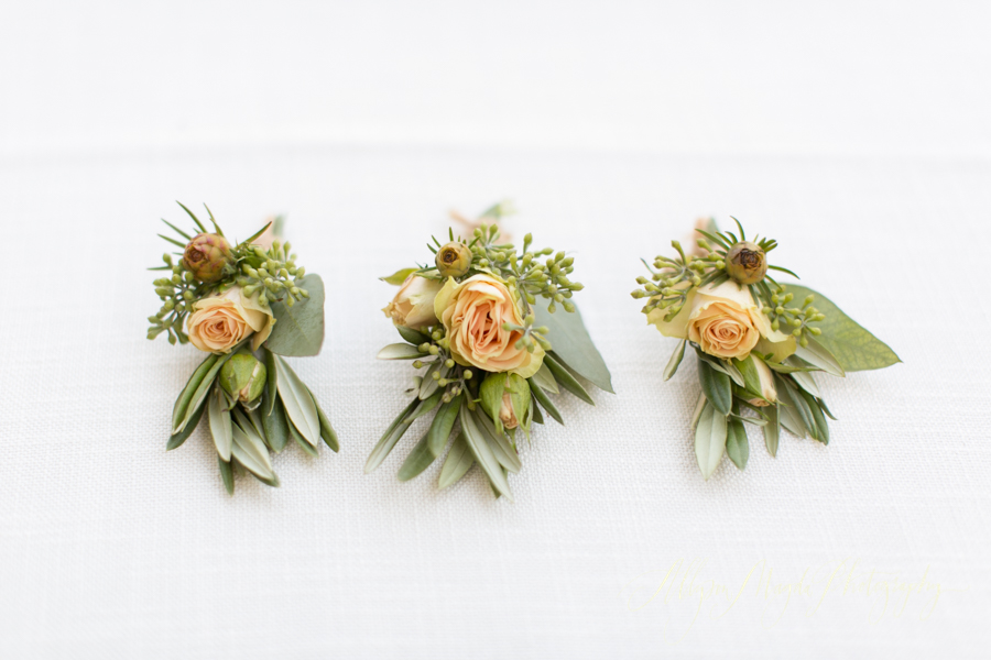 boutonnieres by Kate Healy, Big Sur Flowers