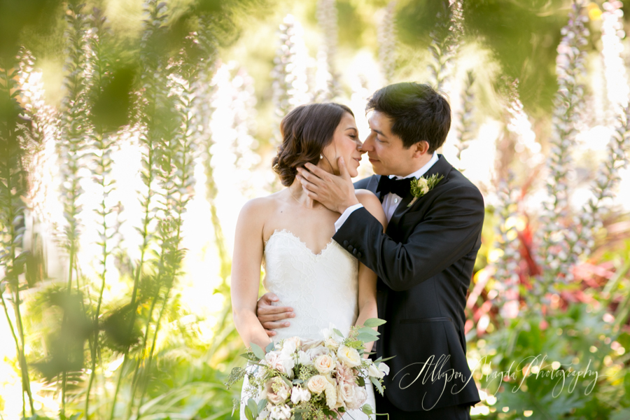 Holman Ranch Wedding, Carmel Valley, bride and groom