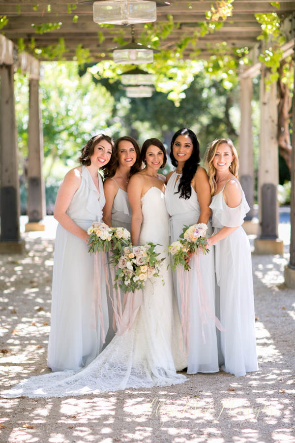 Holman Ranch Wedding, Carmel Valley, bridemaids