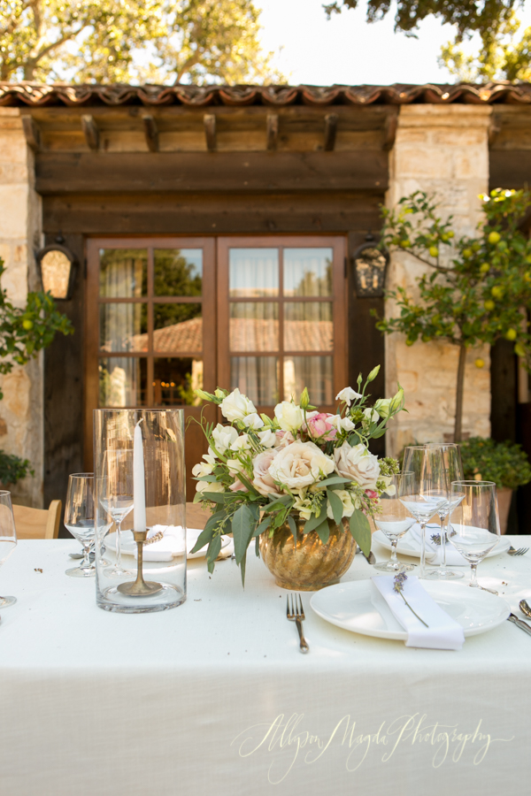 Holman Ranch Wedding reception, Carmel Valley