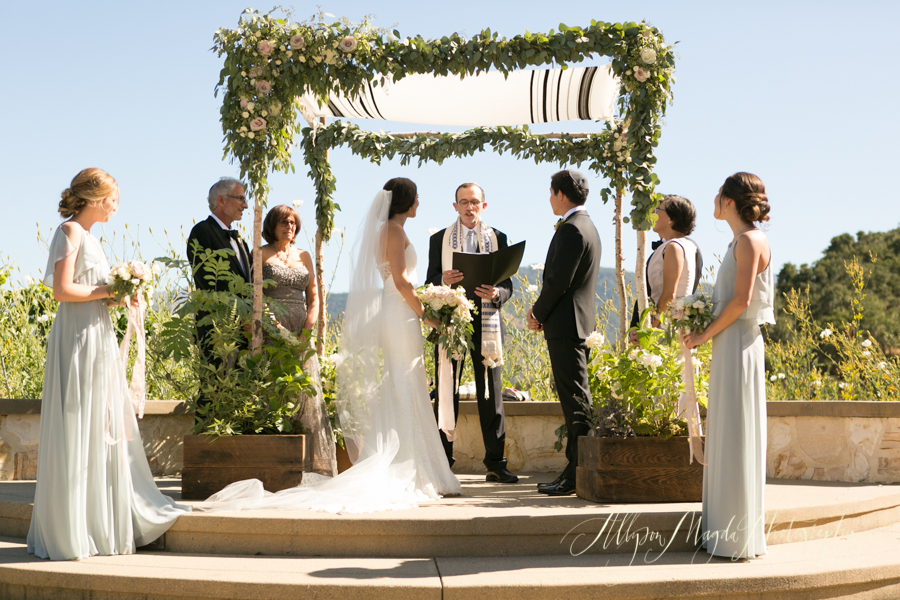 Holman Ranch Wedding ceremony, Carmel Valley