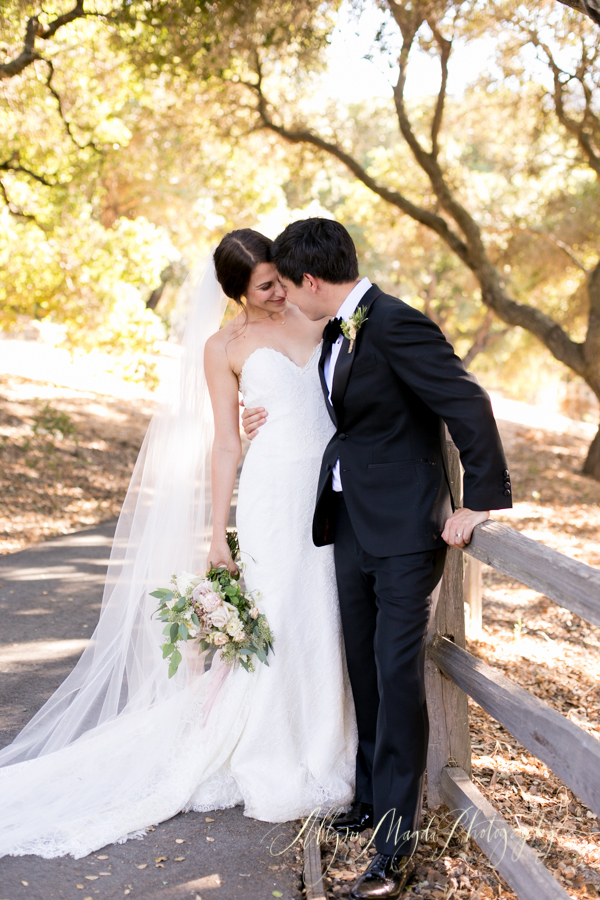 Holman Ranch wedding couple, Carmel