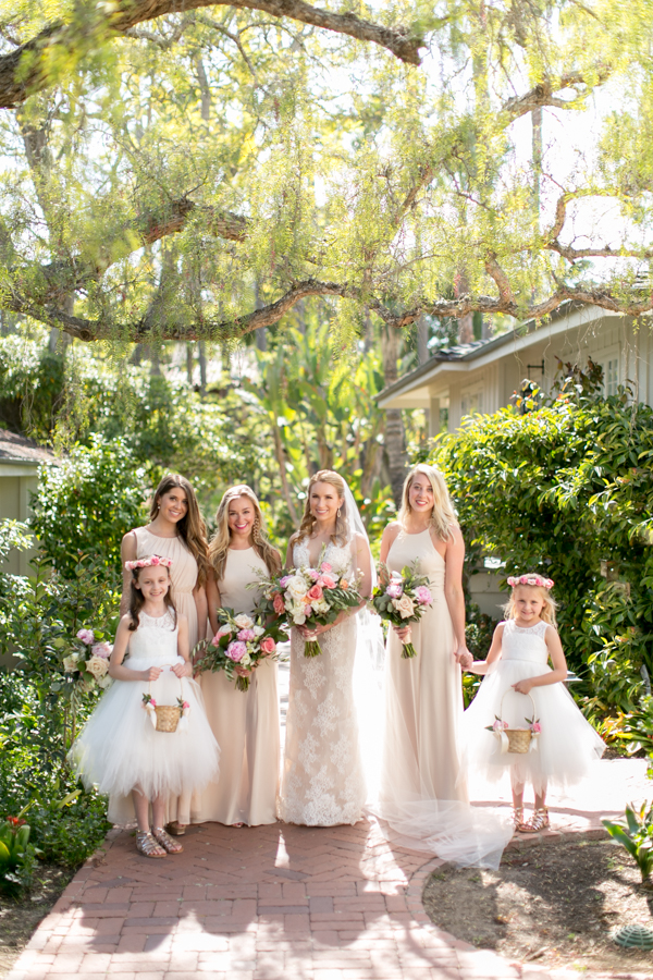 belmond el encanto wedding, bridesmaids