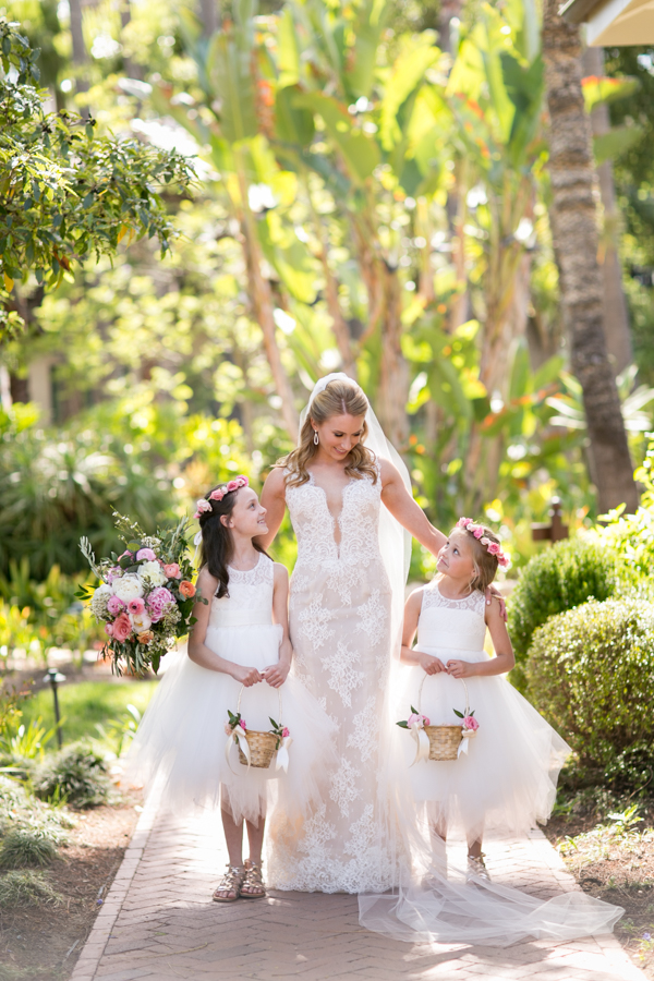 belmond el encanto wedding, flower girls