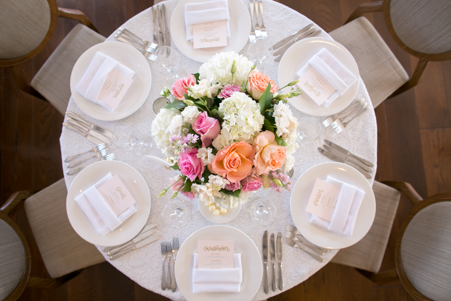 belmond el encanto wedding reception, flowers by leah
