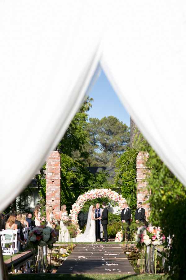 Belmond El Encanto wedding, santa barbara, photographer, ceremony