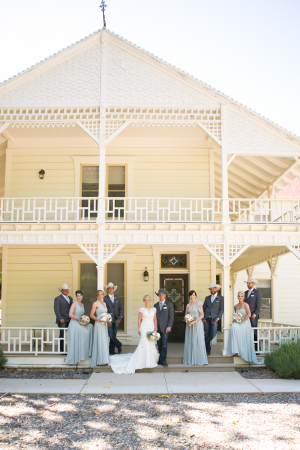 halter ranch winery, bridal party, paso robles