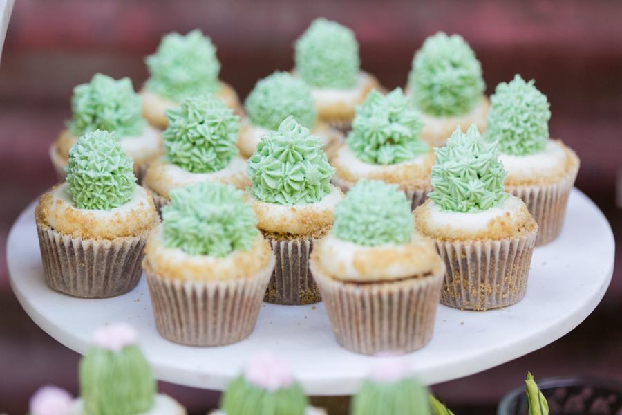 cactus cupcakes, paper cake events, san luis obispo