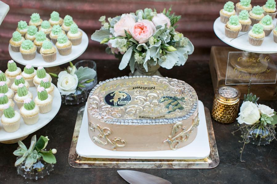 cactus cupcakes, paper cake events, halter ranch, san luis obispo