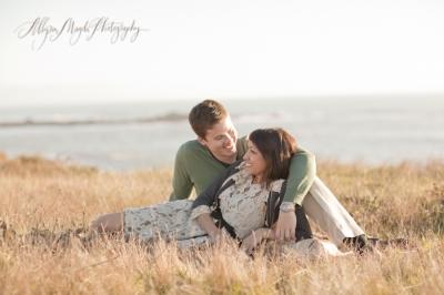 gabriela + brian … central coast engagement photos