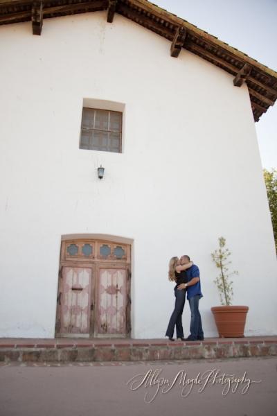 Laura & Brandon engaged,  San Miguel Ca.