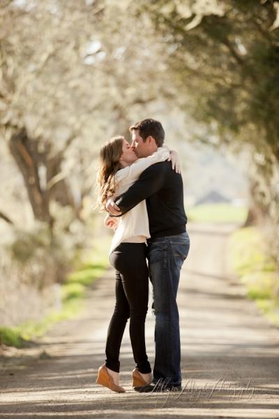 Haley & Brett Engaged, Templeton Ca.