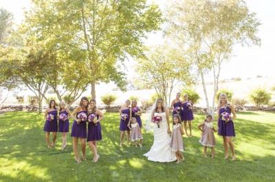 Hayley & Brett Married Cellar 360  Paso Robles, ca.