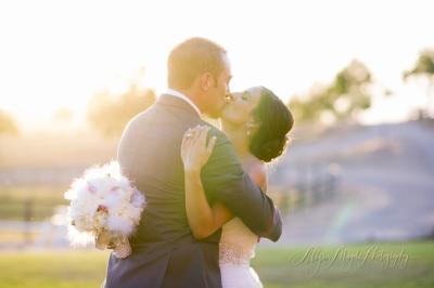 Jenny & Morgan Married;  Windfall Farms Paso Robles, Ca.