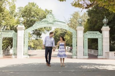 Sarah + Scott, UC Berkeley Engagement shoot