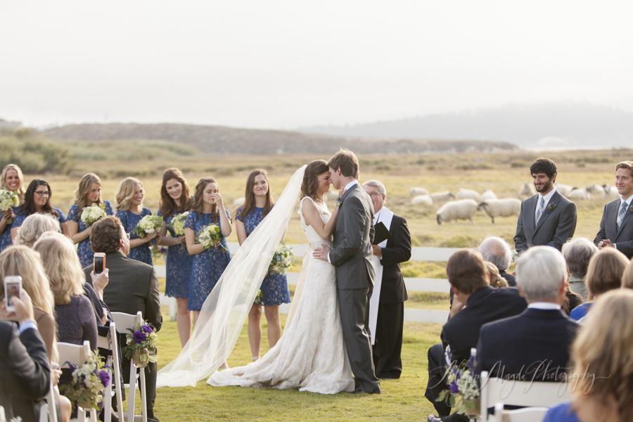Kate Adams Mission Ranch Carmel Wedding