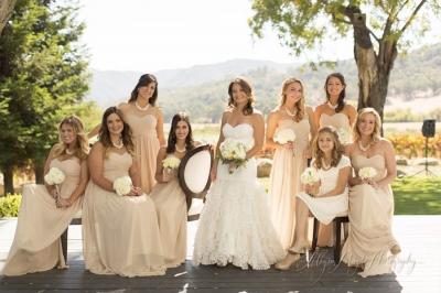 Morgan & Keon Married at Hammersky vineyard, Ca.