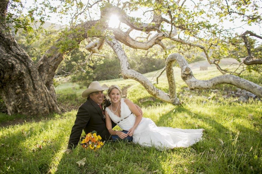 La Cuesta Ranch San Luis Obispo Wedding Bride And Groom