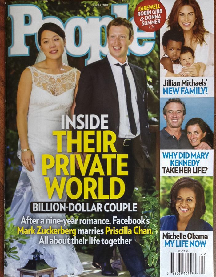 Mark Zuckerberg wedding