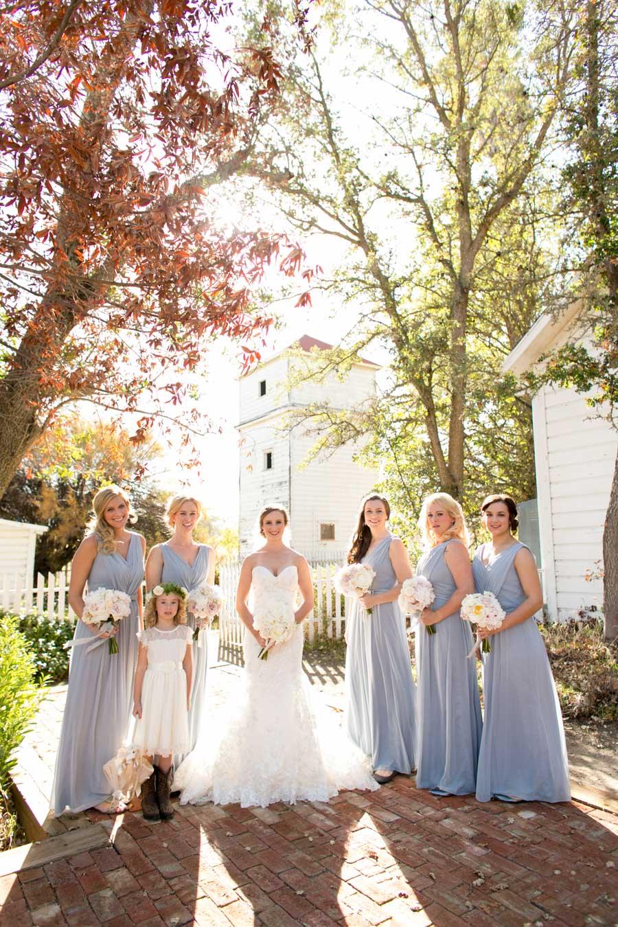 Bridesmaids at Santa Margarita Ranch Wedding House