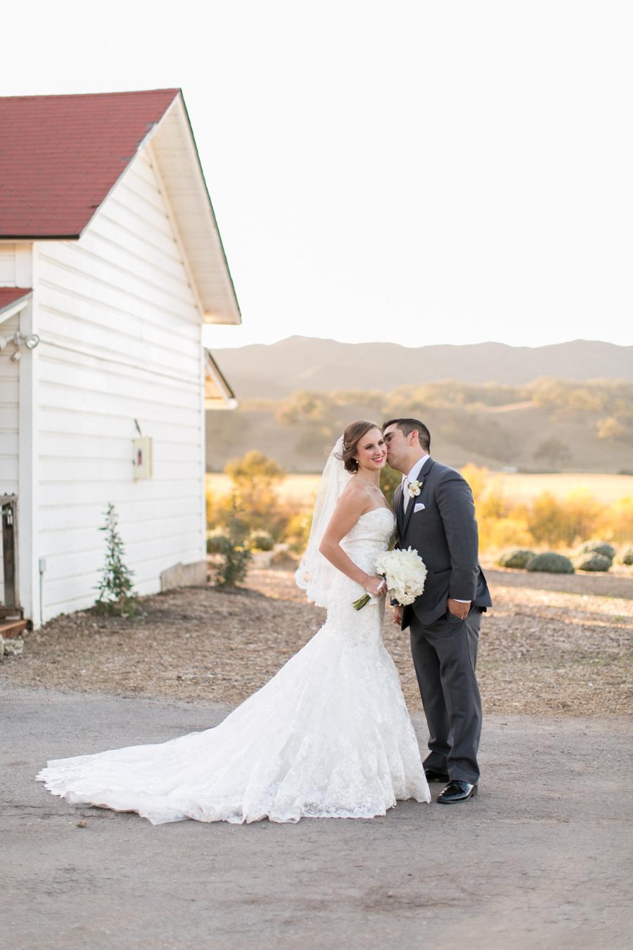 bride and groom wedding at Santa Margarita Ranch