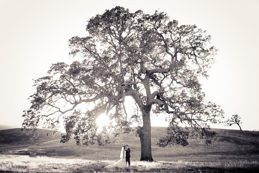 Santa Margarita Ranch Wedding couple