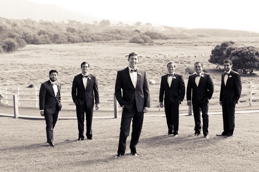 carmel mission ranch groomsmen