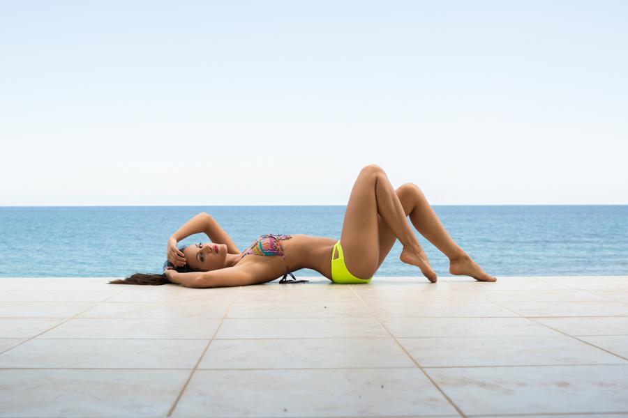 swimsuit model photoshoot