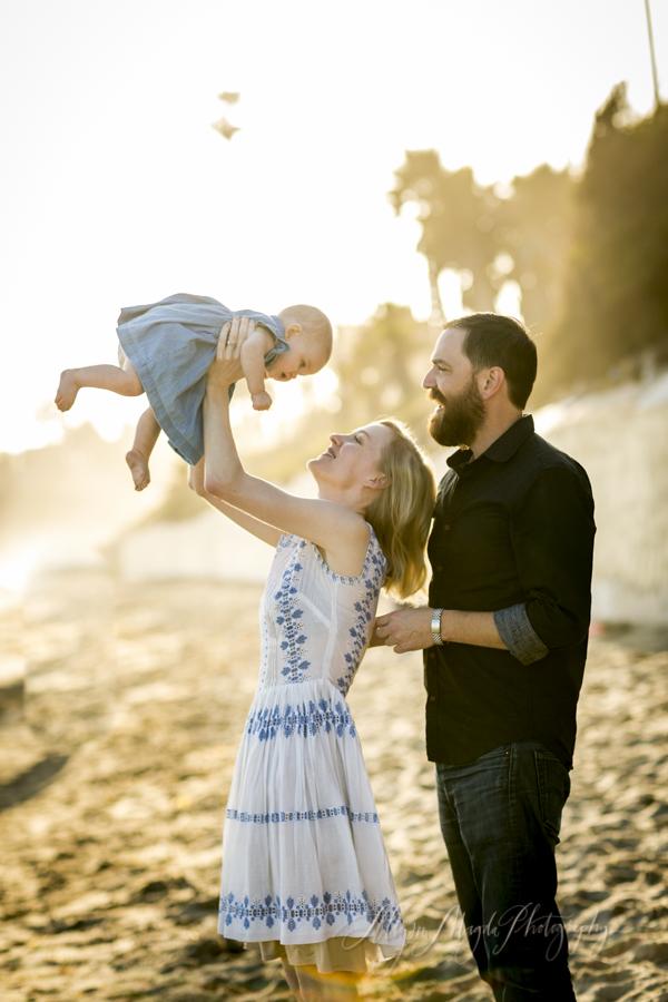 Santa Barbara baby family photographer