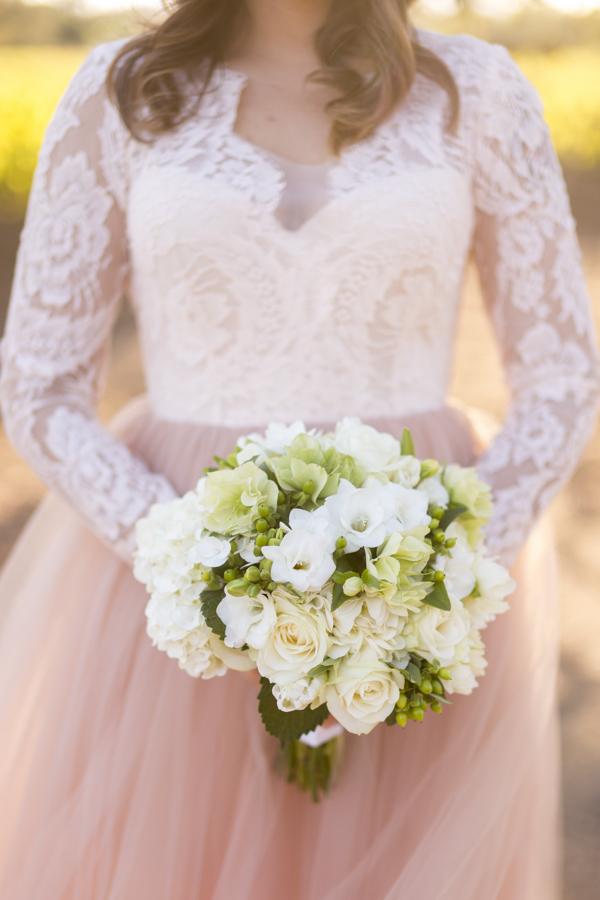 roblar bride at winery wedding santa ynez