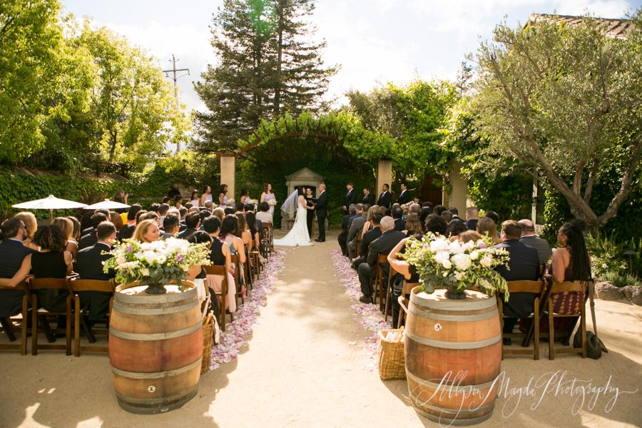 Ramekins Sonoma Wedding